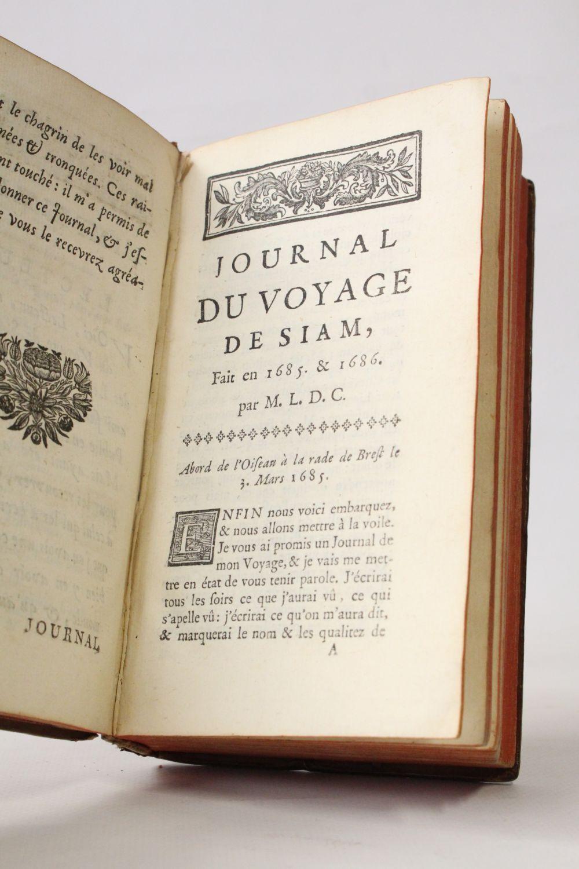 Journal du voyage de Siam fait en 1685 et 1686 (French Edition)
