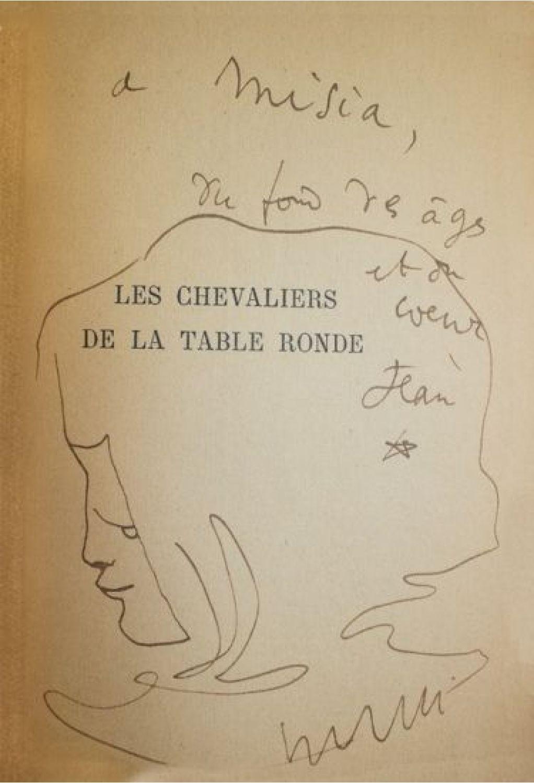 Cocteau les chevaliers de la table ronde signed book - Les principaux chevaliers de la table ronde ...