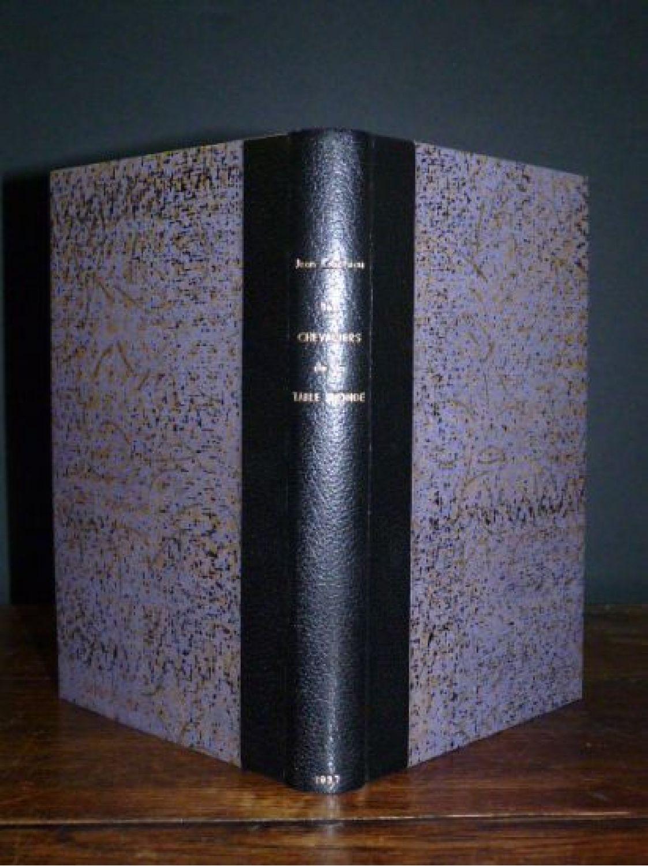 Cocteau Les Chevaliers De La Table Ronde Autographe Edition Originale Edition