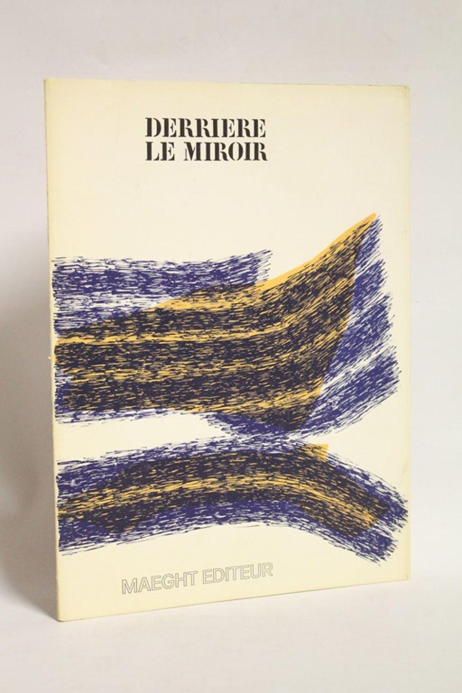 Collectif derri re le miroir n 195 edition originale for Giacometti derriere le miroir