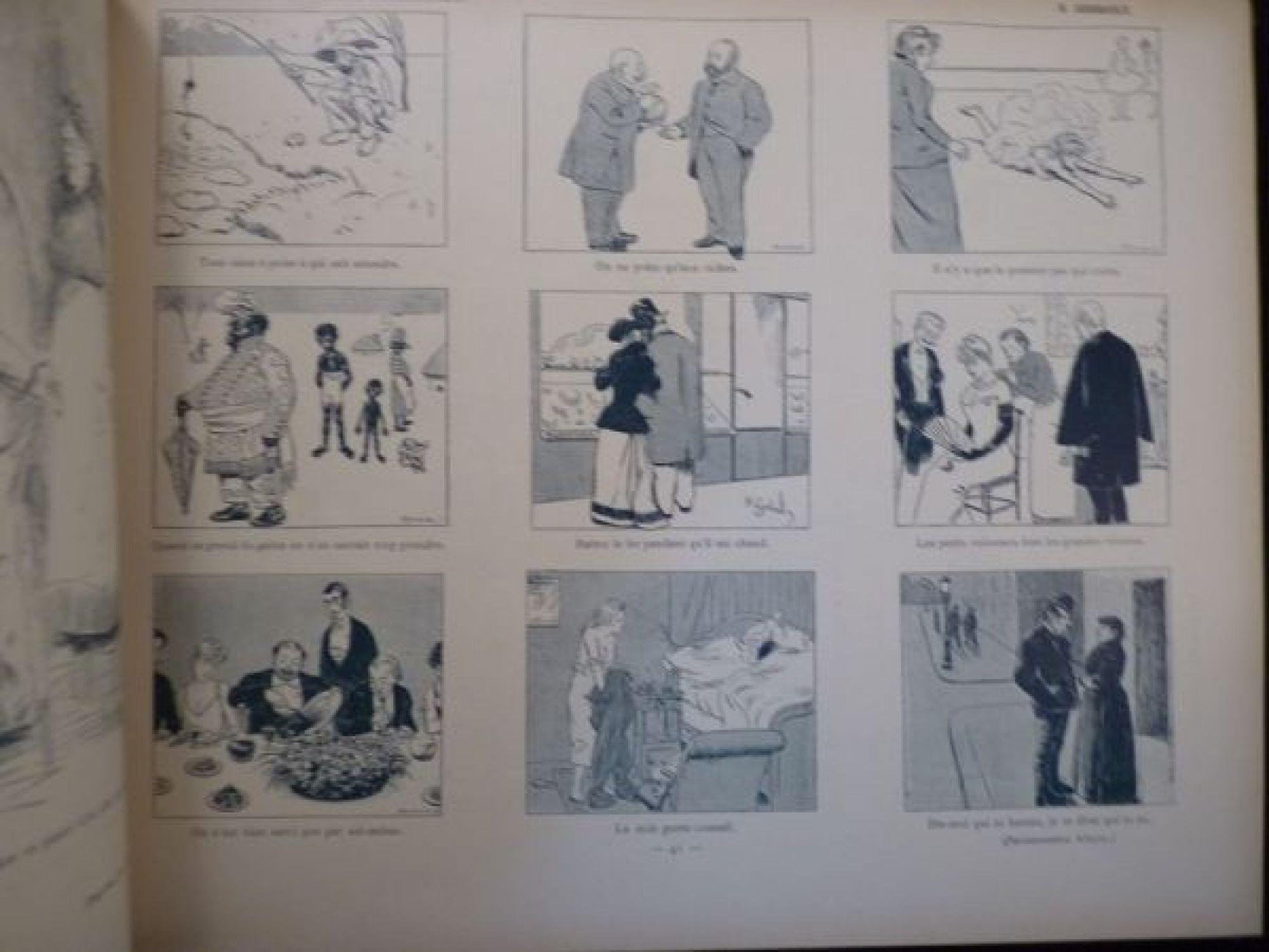 collectif la galerie comique du dix neuvi 232 me si 232 cle edition originale edition originale
