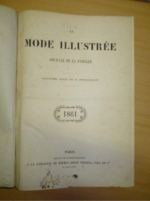 collectif la mode illustr e journal de la famille 1861 deuxi me ann e de sa publication. Black Bedroom Furniture Sets. Home Design Ideas