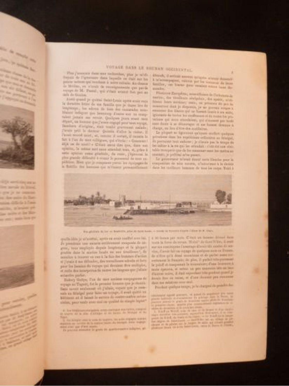 collectif le tour du monde nouveau journal des voyages ann e 1868 compl te first edition. Black Bedroom Furniture Sets. Home Design Ideas