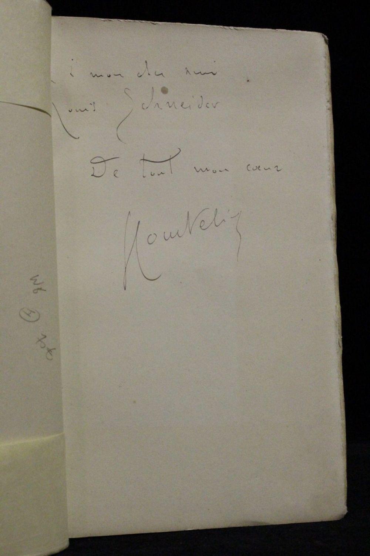 Courteline le miroir concave signed book edition for Miroir concave