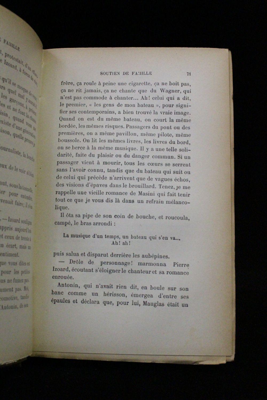 Daudet soutien de famille edition originale edition - Photo de famille originale ...