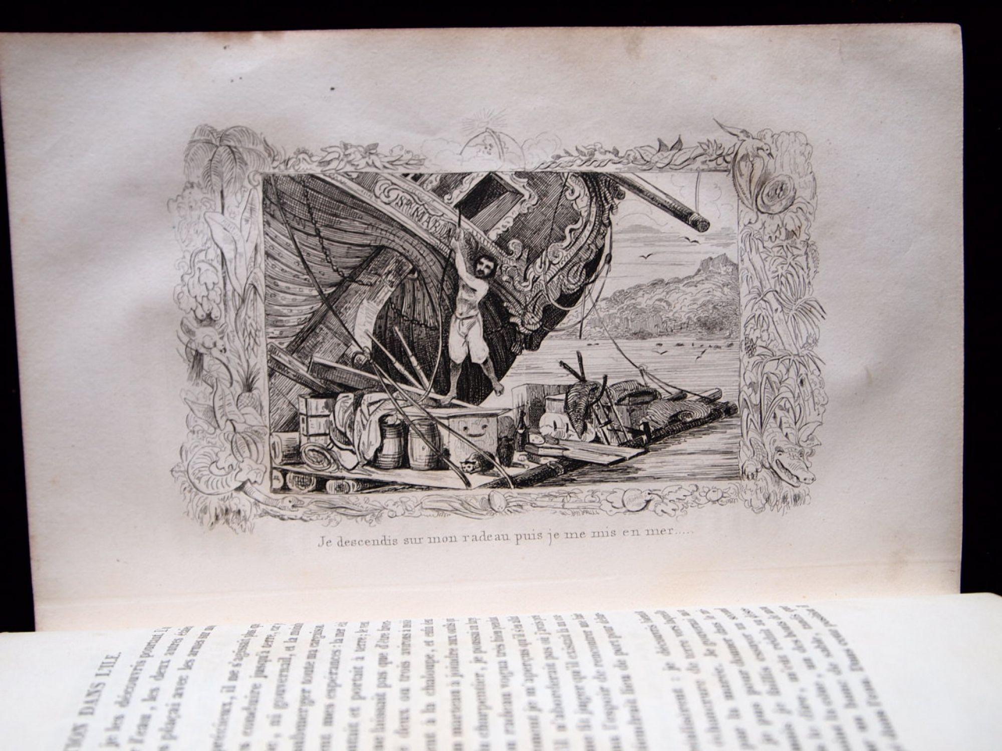 Livre Original Robinson Crusoe Wilchowddiwal Ga