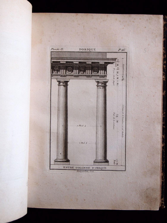 Delagardette regle des cinq ordres d 39 architecture de for Architecture originale