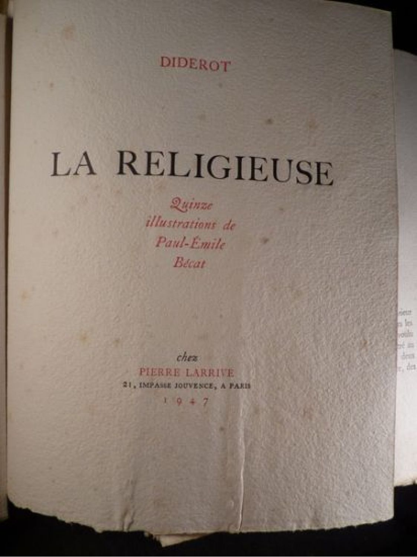 denis diderot la religieuse dissertation Denis diderot la religieuse dissertation denis diderot la religieuse dissertation la religieuse est un texte de denis diderot (1713-1784) ecrit en 1760.