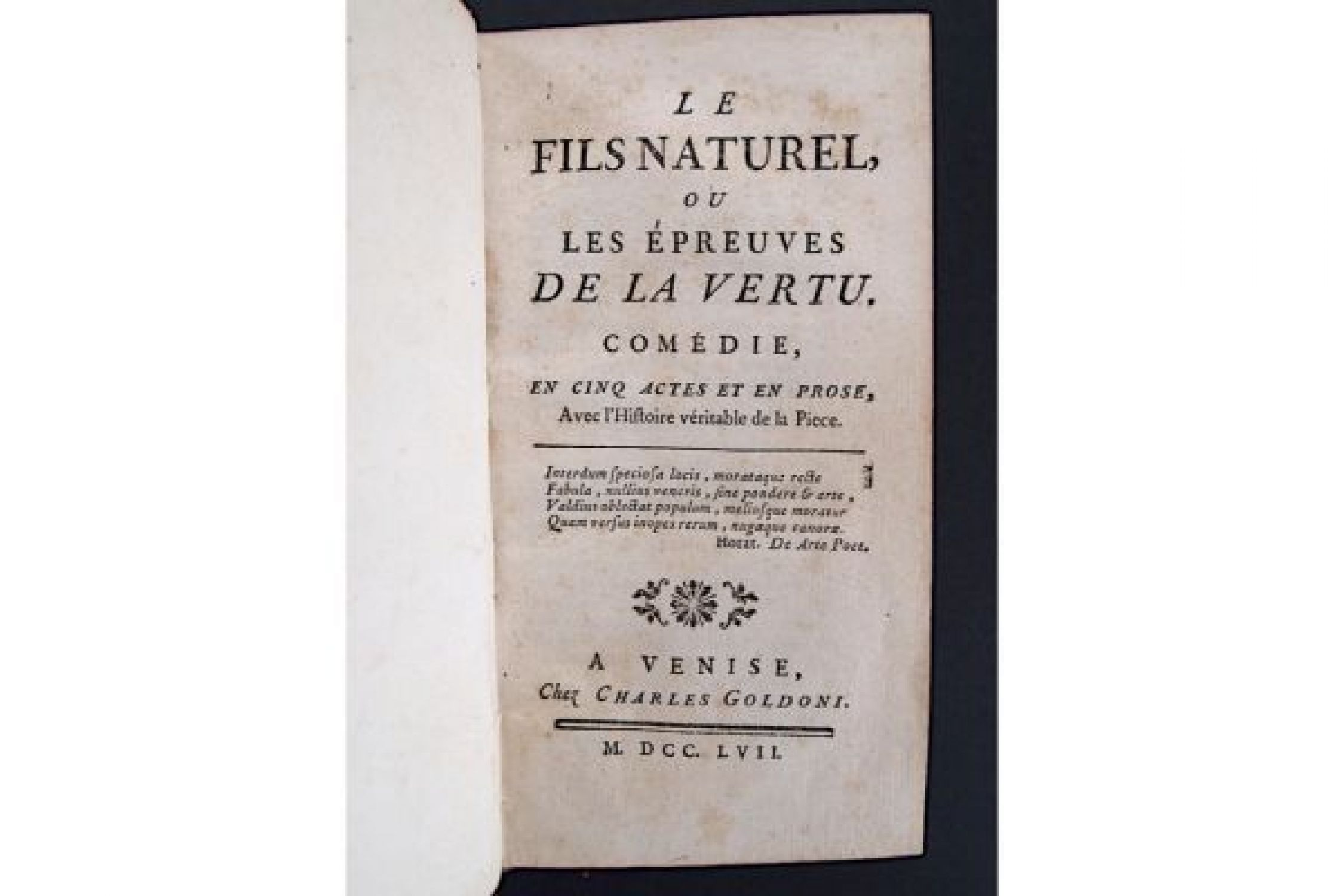 Edition Fils le fils naturel edition originale com