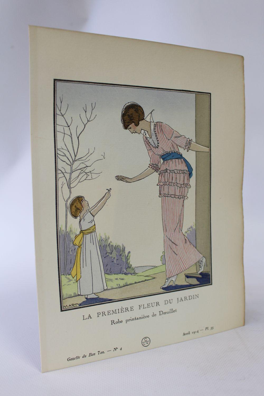 La Première Fleur du jardin. Robe printanière de Doeuillet (pl.35 ...