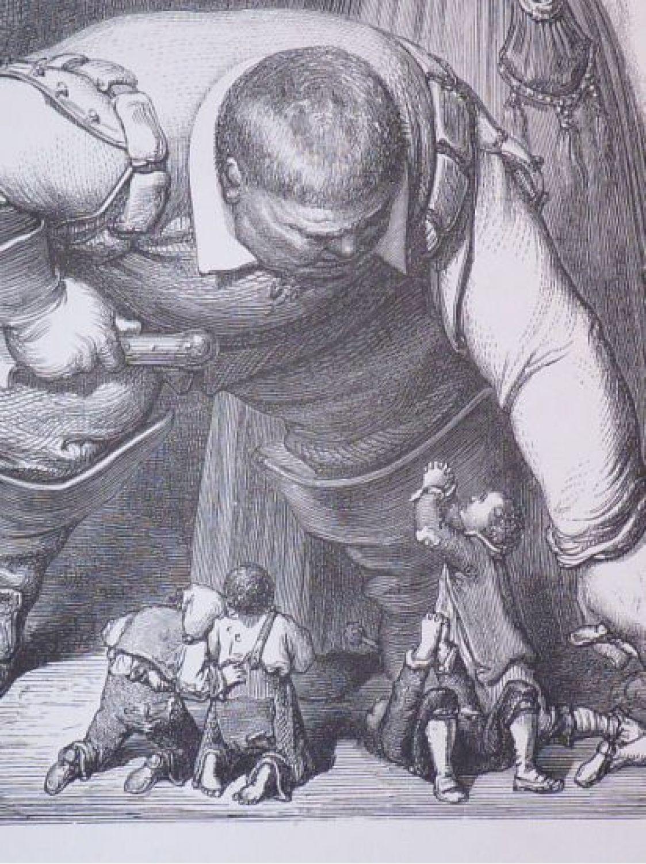 Charles Perrault Contes Le Petit Poucet L Ogre Découvrant