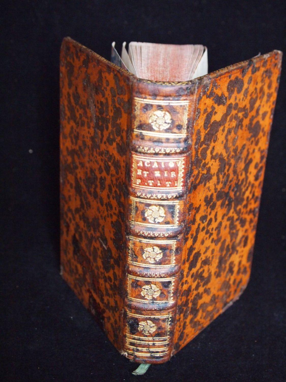 ACAJOU ET ZIRPHILE 1744. 10 COPPER PLATES.