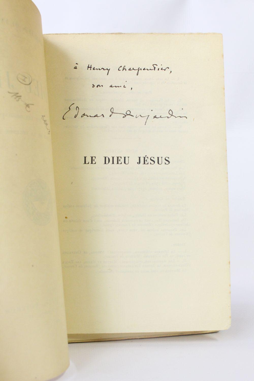 Dujardin le dieu j sus autographe edition originale for Edition dujardin