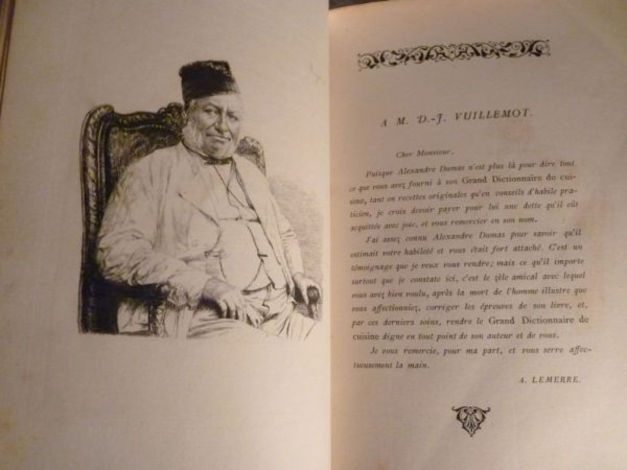 Dumas grand dictionnaire de cuisine edition originale - Dictionnaire de cuisine alexandre dumas ...