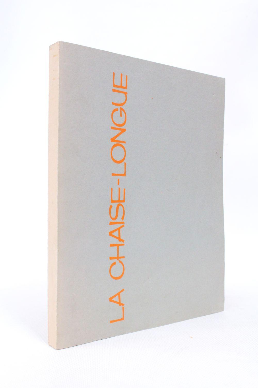 Duras La Chaise Longue First Edition Edition Originale Com