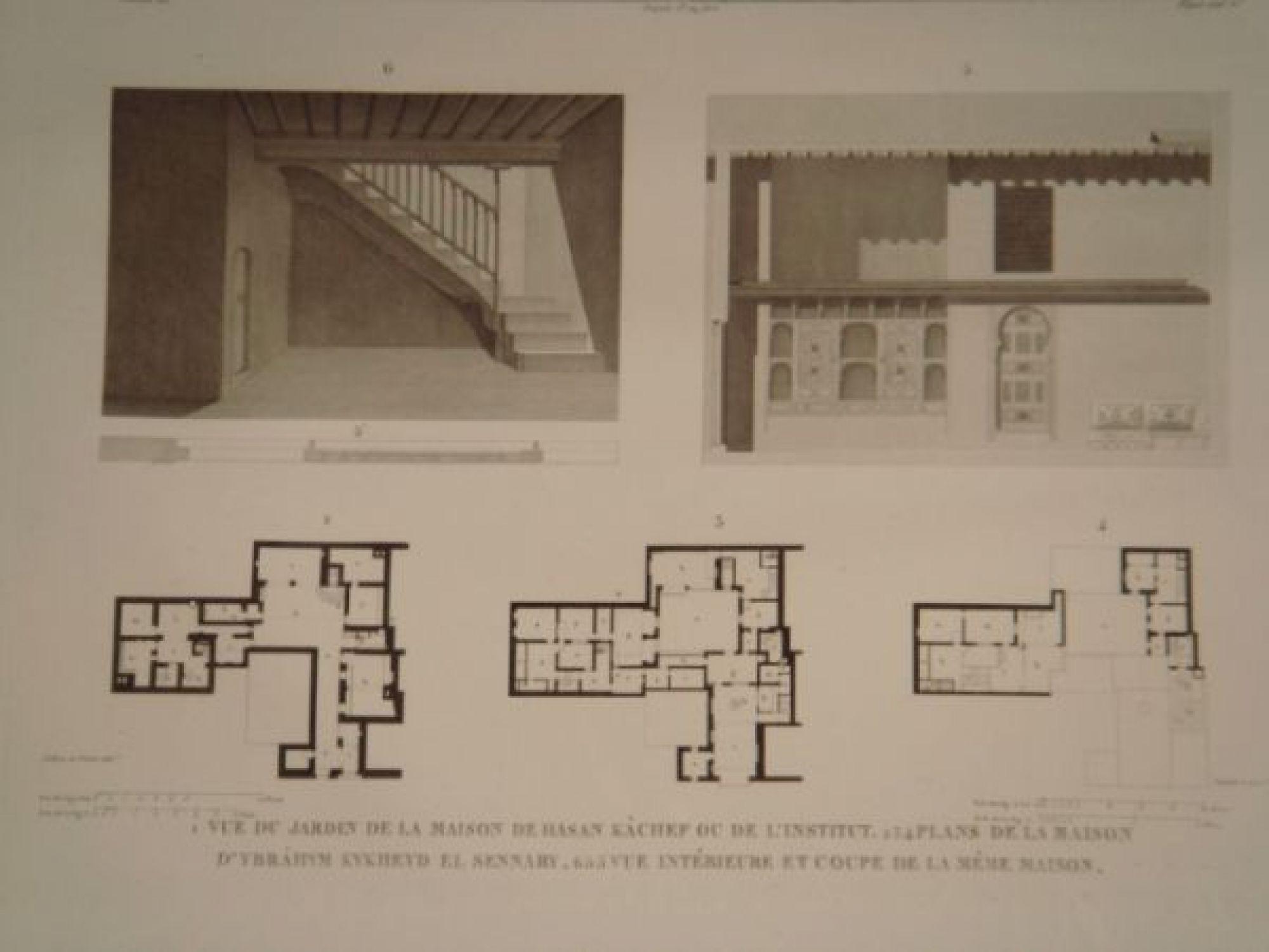 Plan de maison originale vue du jardin plan maison plan - Maison jardin house plan villeurbanne ...