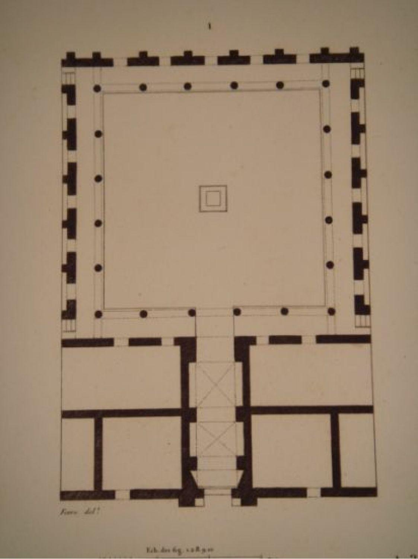 Elevation Sur Un Plan : Description de l egypte basse plan et élévation d