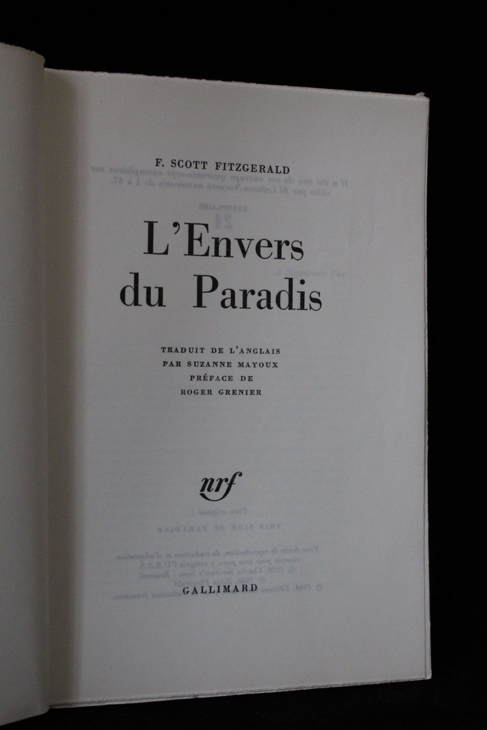 LENVERS DU PARADIS FITZGERALD EBOOK DOWNLOAD