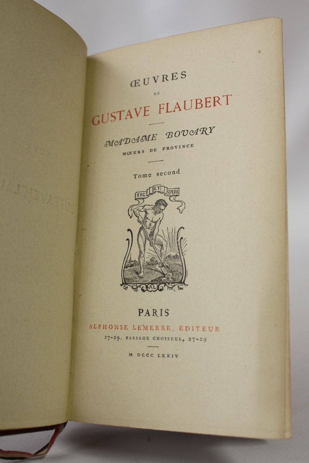 a review of gustave flauberts madame bovary Reviews: madame bovary emotion,far less do justice to the many facets of flauberts creation,but at gustave flaubert's madame bovary is a classic that does.