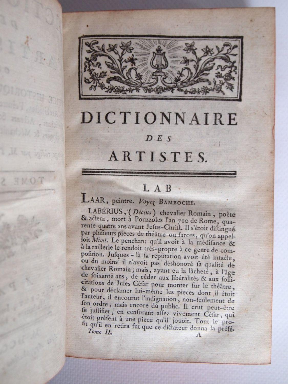 fontenay dictionnaire des artistes ou notice historique On dictionnaire des architectes