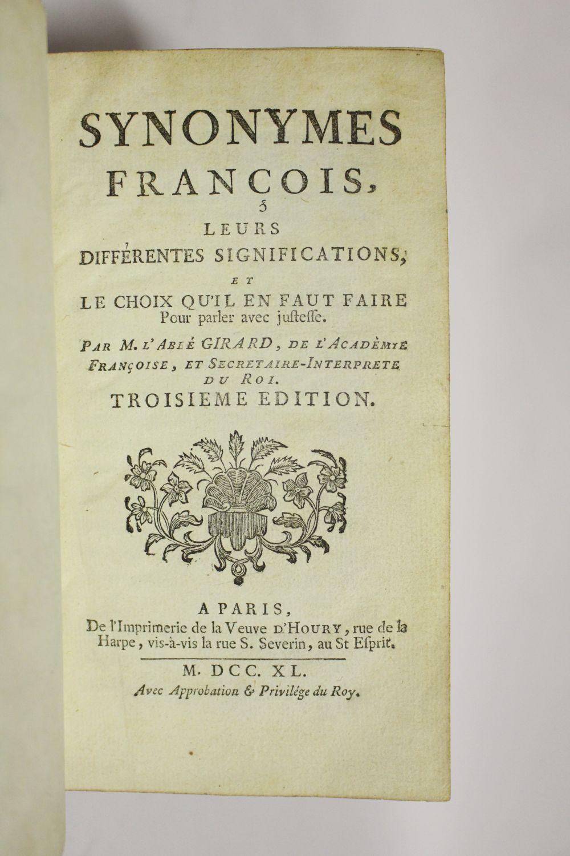 Différentes GirardSynonymes Le FrançoisLeurs SignificationsEt Différentes FrançoisLeurs GirardSynonymes tshdrQ