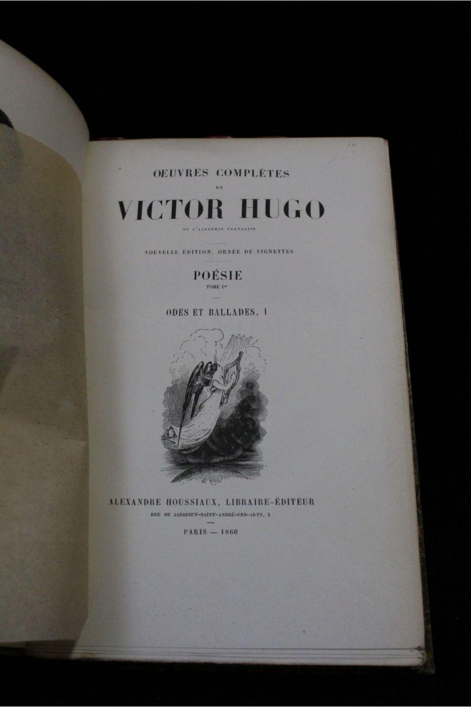 Hugo Poésie Odes Et Ballades Les Orientales Les Chants