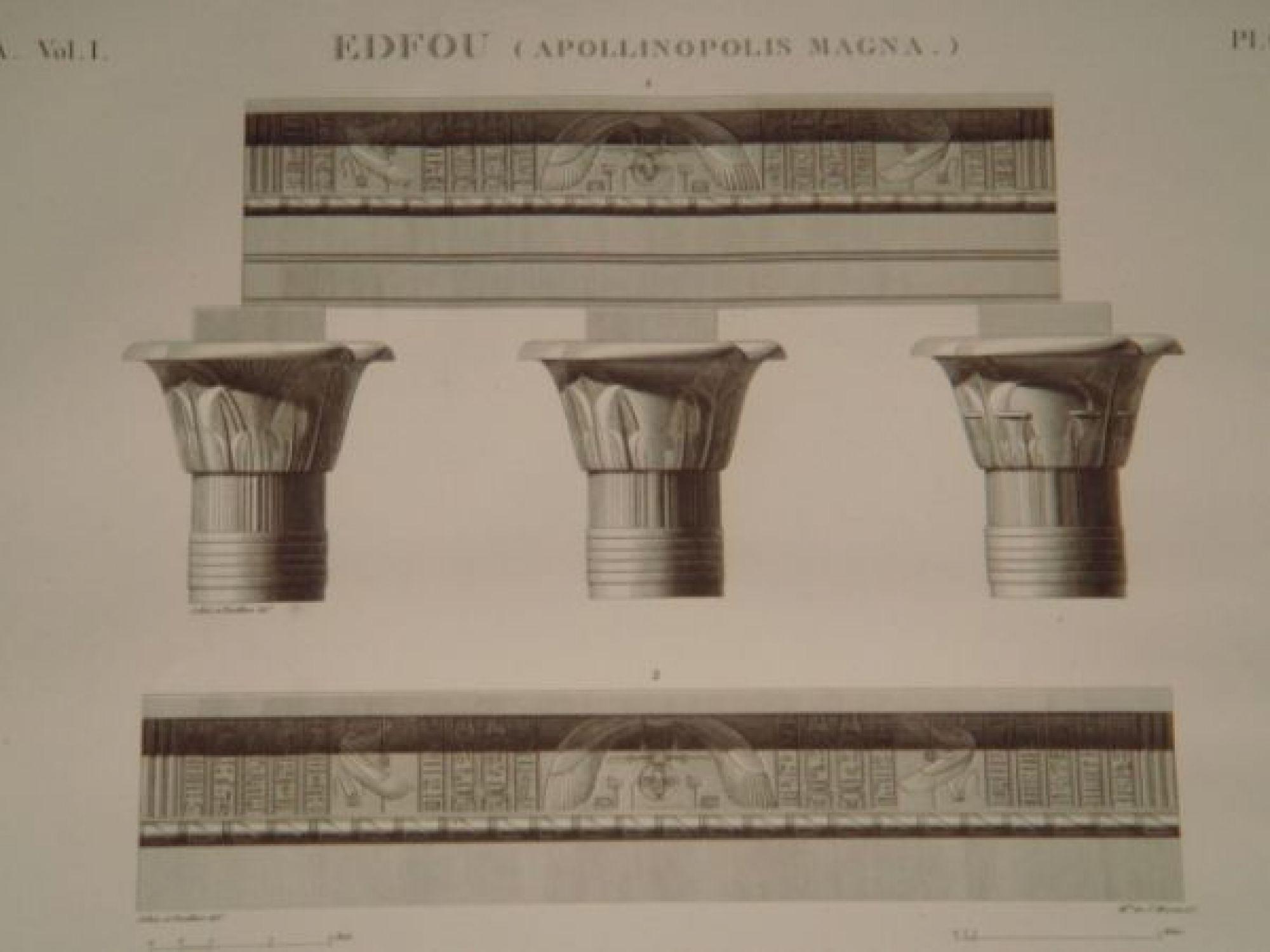 Description de l 39 egypte edfou apollinopolis magna for Architecture originale