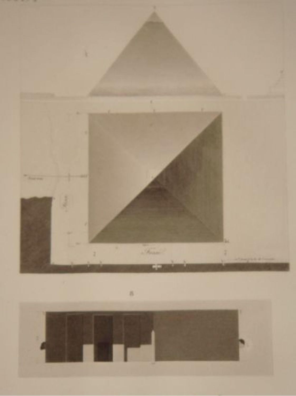 Description De L 39 Egypte Pyramides De Memphis Plan Et