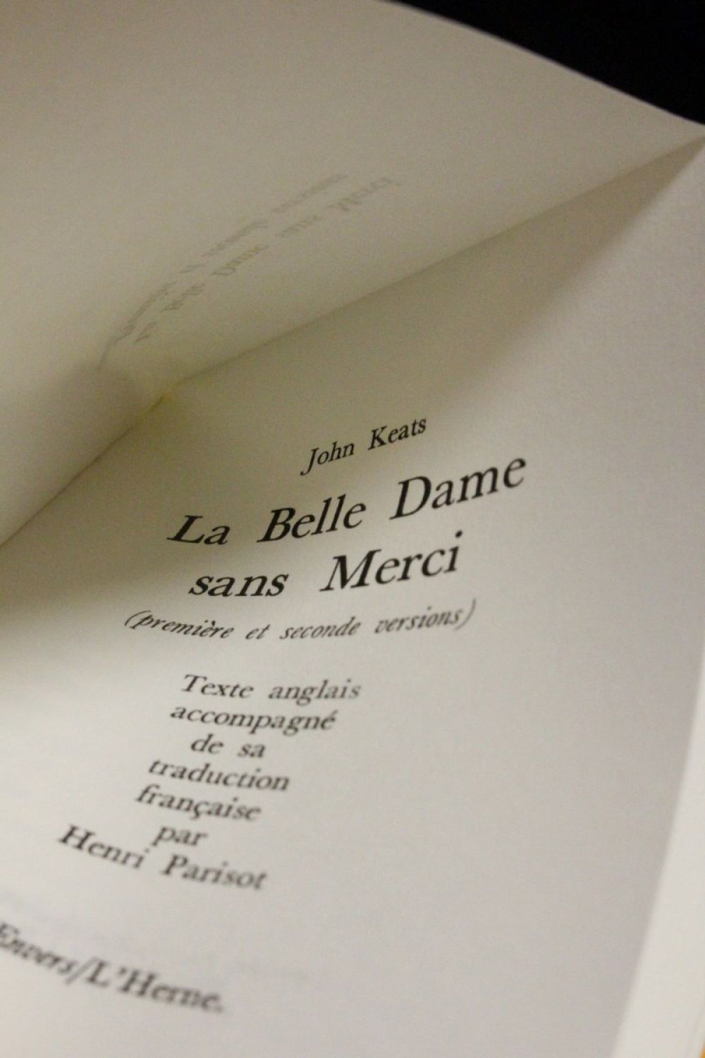 a poem full of imagination dreams romanticism and mystery in la belle dame sans merci by john keats Need writing la bell dame sans merci essay use our paper writing services or get access to database of 35 free essays samples about la bell dame sans merci signup now and have a+ grades.