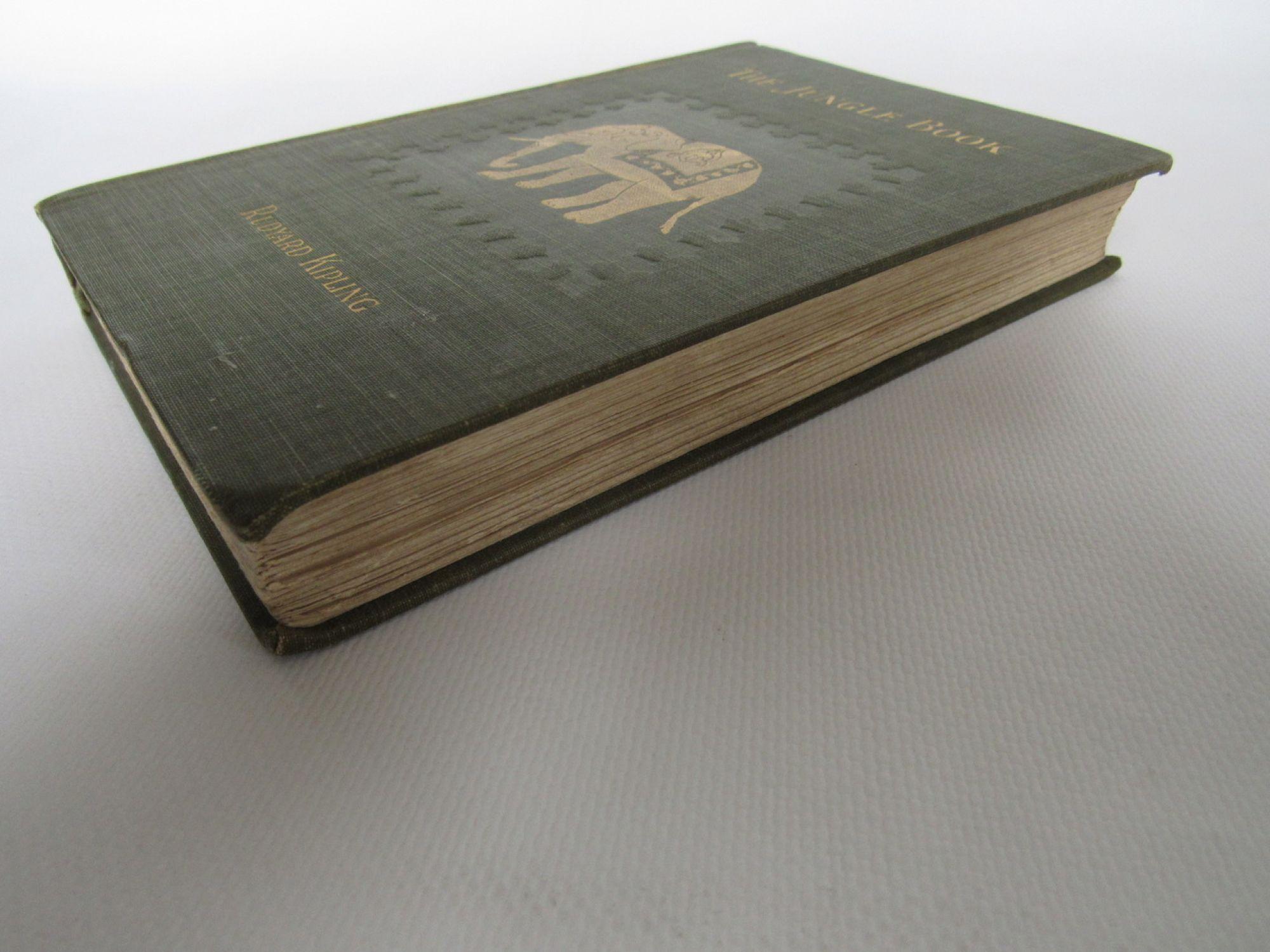 9d9c2fa74 KIPLING : The jungle book - First edition - Edition-Originale.com