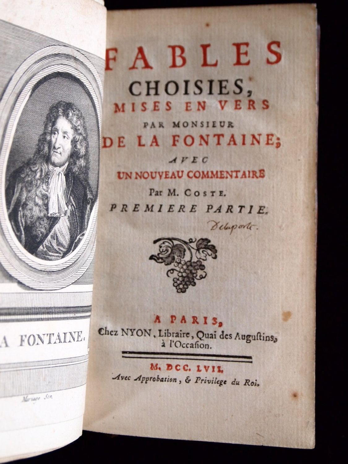 Fables Choisies by Fontaine