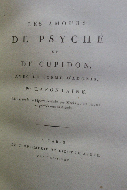 La Fontaine Les Amours De Psyché Et De Cupidon Avec Le