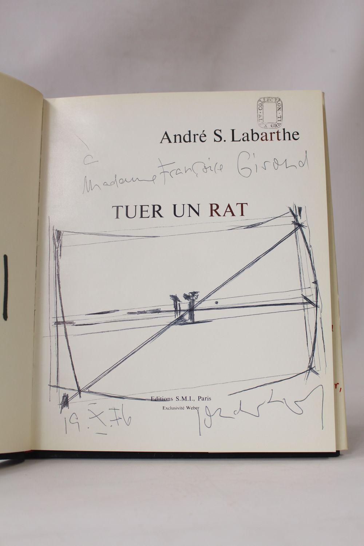 labarthe sonderborg tuer un rat libro autografato prima edizione edition. Black Bedroom Furniture Sets. Home Design Ideas