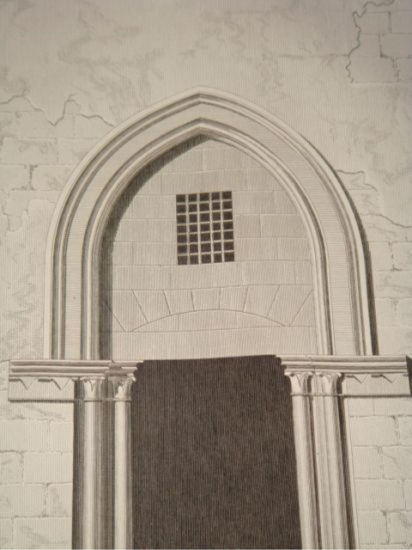 description de l 39 egypte le kaire le caire et environs plan et l vation d 39 une porte. Black Bedroom Furniture Sets. Home Design Ideas