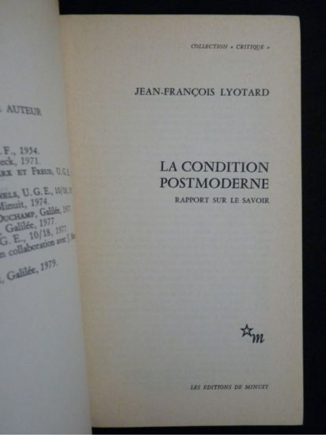 lyotard postmodern condition essay writer