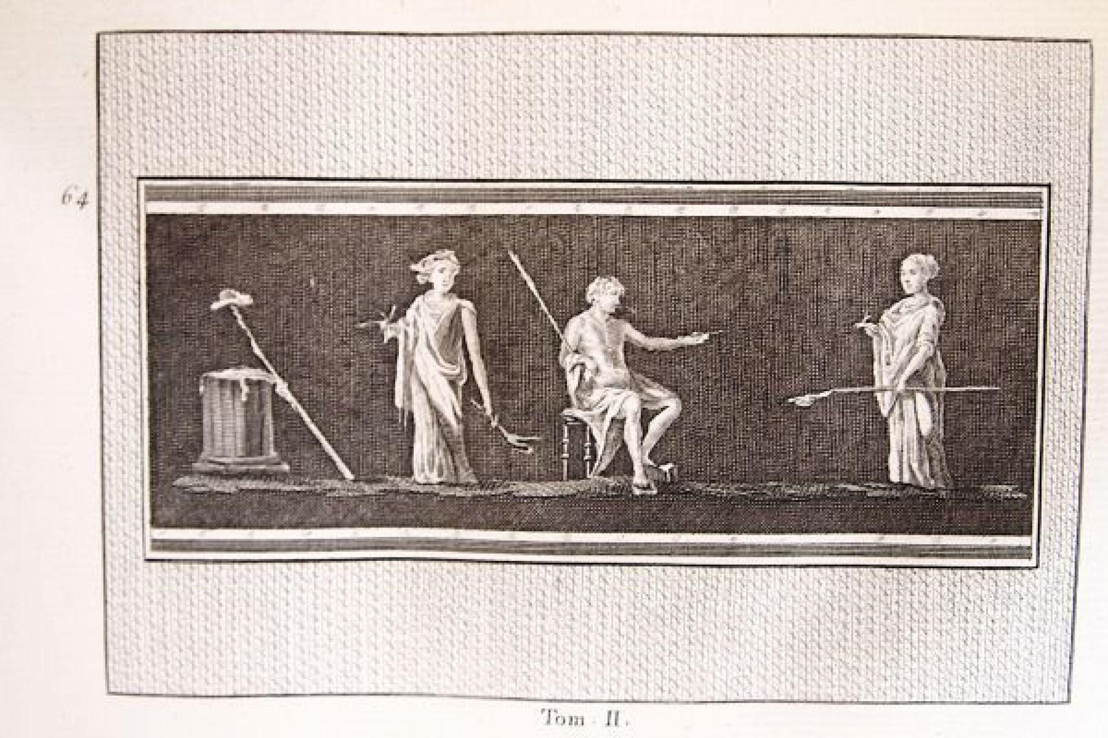 marechal antiquits dherculanum ou les plus belles peintures antiques et les