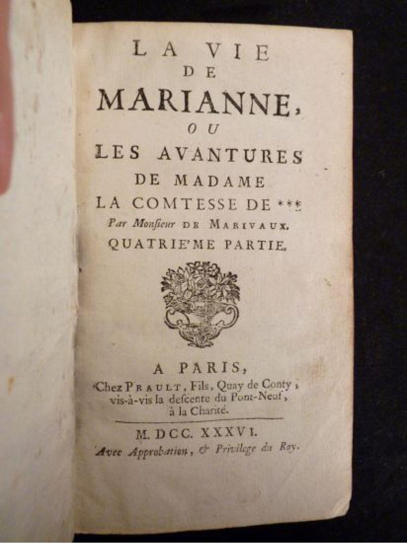 Marivaux la vie de marianne ou les avantures de madame for Astrologie ou le miroir de la vie