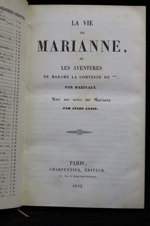 Marivaux la vie de marianne ou les aventures de madame for Astrologie ou le miroir de la vie