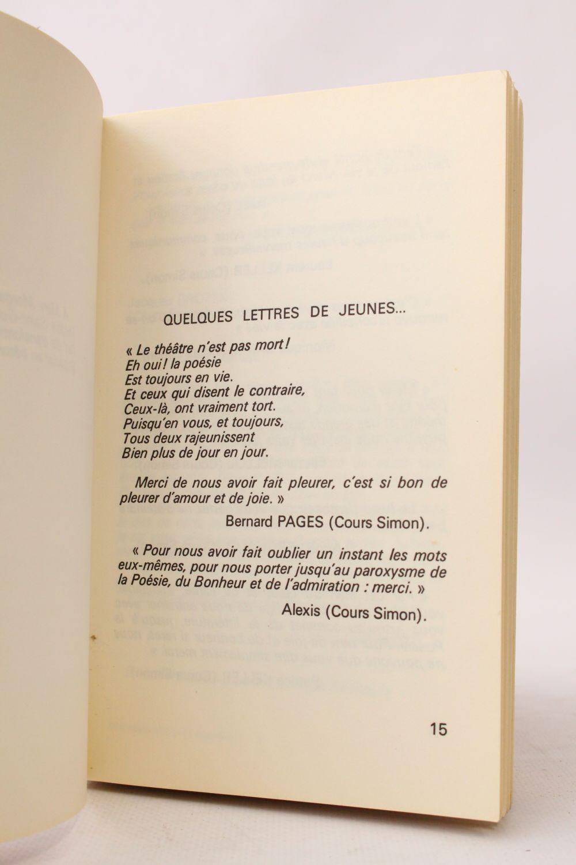 Marquet Mes Noces Dor Avec La Poésie Récitals 1975 1976