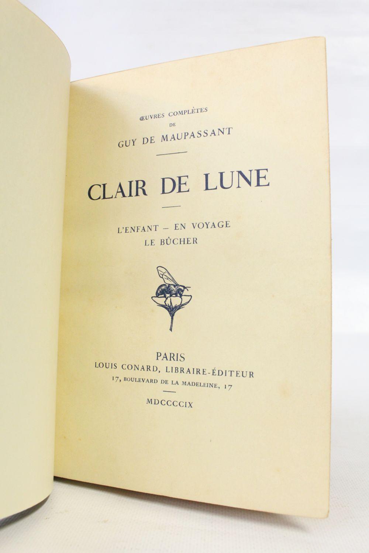 45b6a13ca17 MAUPASSANT   Clair de lune - Edition-Originale.com