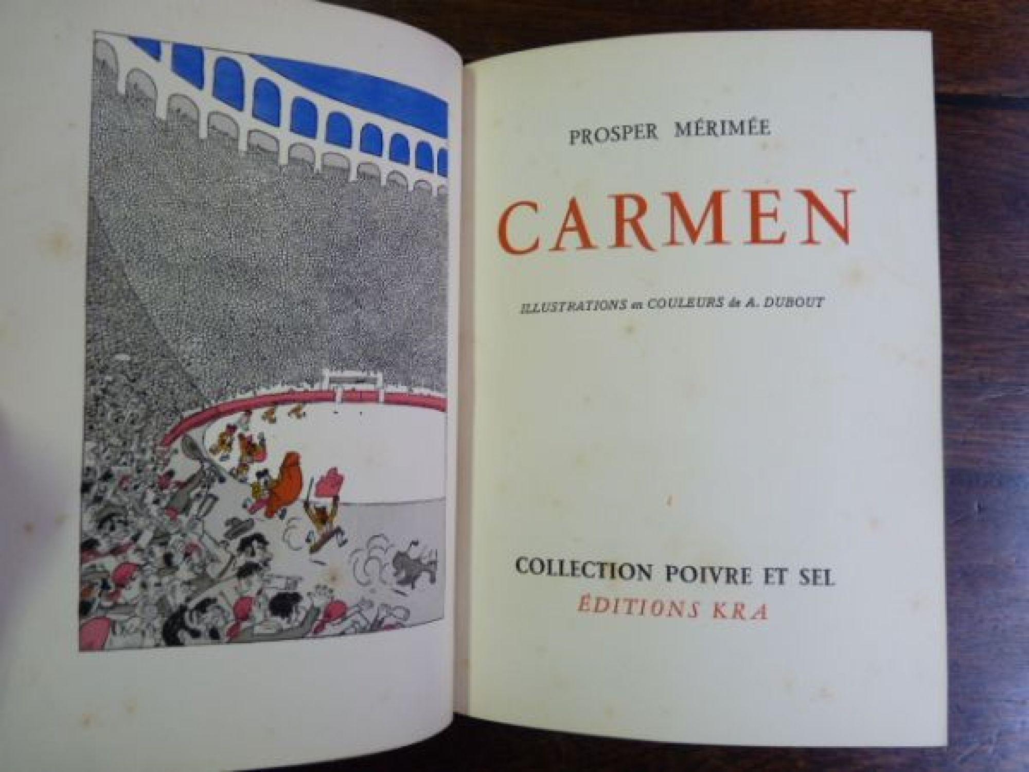 dissertation carmen mérimée
