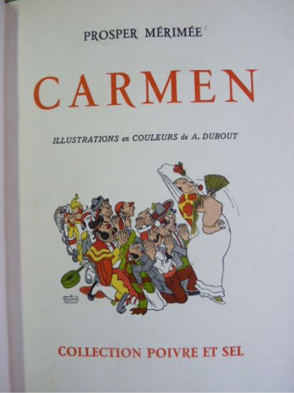 dissertation sur carmen de mérimée