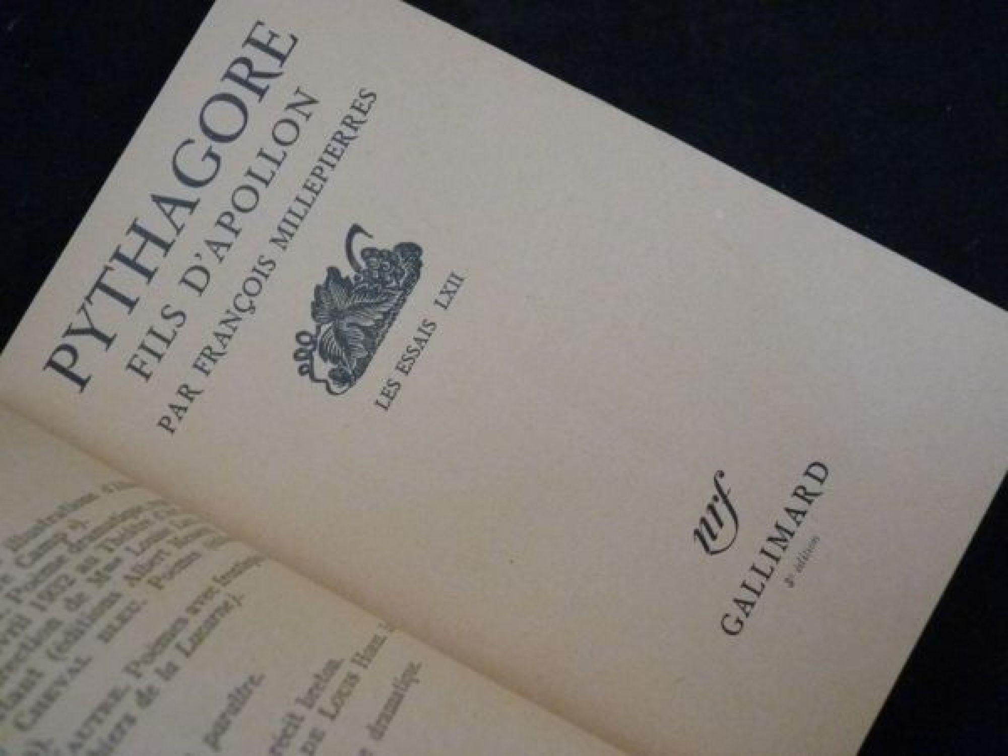 Edition Fils pythagore fils d apollon edition edition originale com