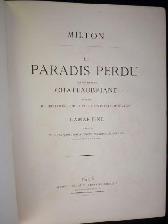 le paradis perdu de milton pdf