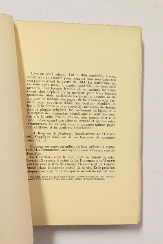 Nouveau Le Calepin Du Mendiant Précédé Dautres Poèmes