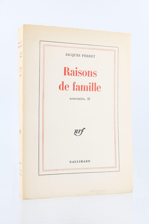 Perret raisons de famille souvenirs ii edition originale edition - Photo de famille originale ...