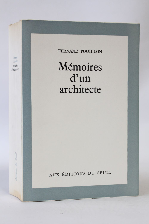 Pouillon m moires d 39 un architecte autographe edition - Un architecte ...