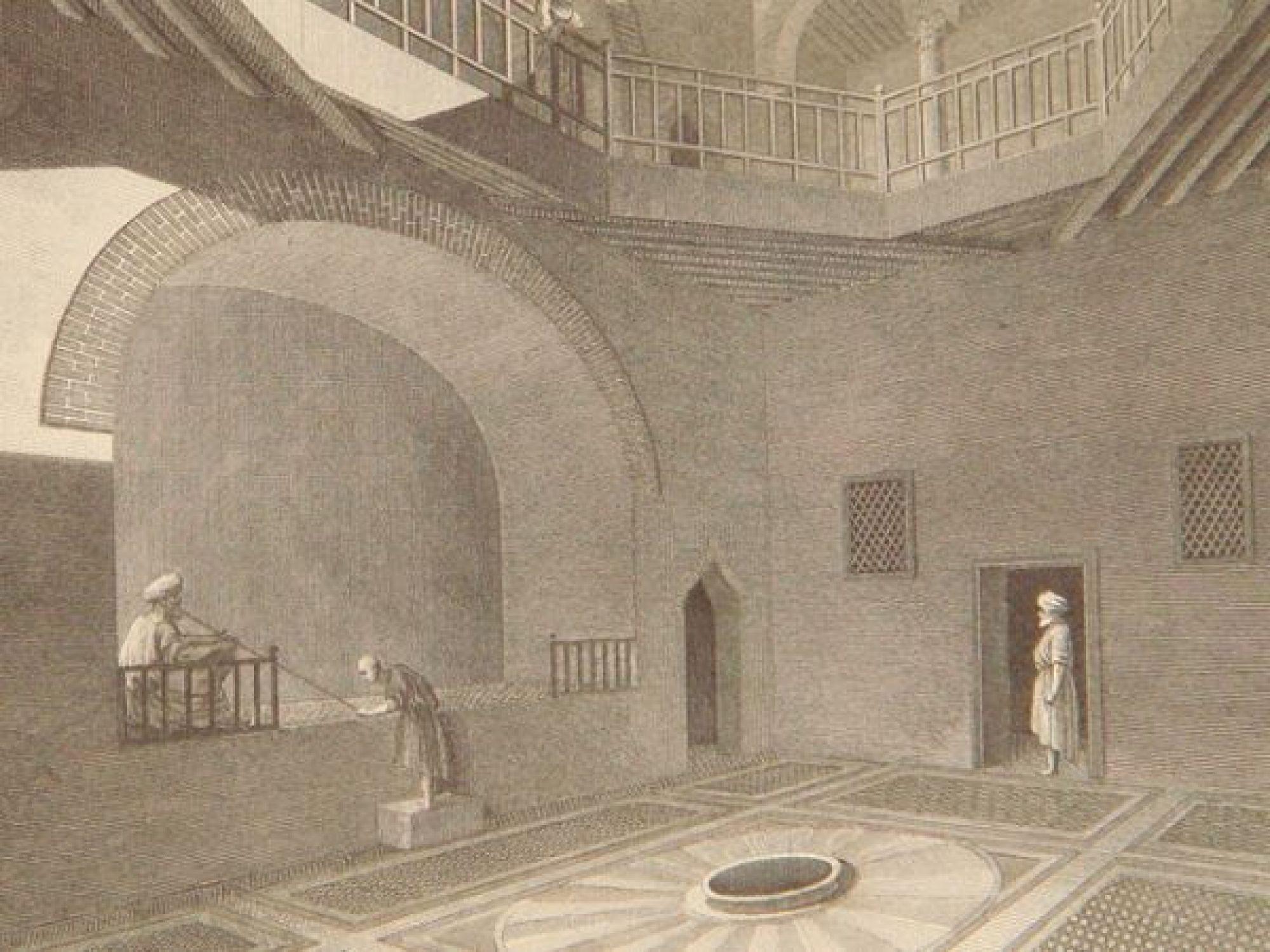 description de l 39 egypte alexandrie vues perspectives int rieures d 39 une maison particuli re. Black Bedroom Furniture Sets. Home Design Ideas