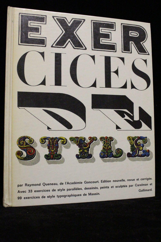 QUENEAU : Exercices de style - Edition-Originale.com