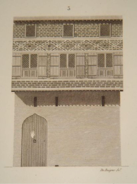 Plans coupes élévations et détails de menuiserie dune maison turque etat moderne